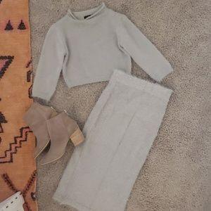 Lulus two piece sweater set